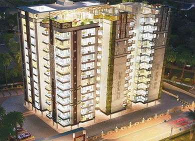 luxury residential flat in Indirapuram